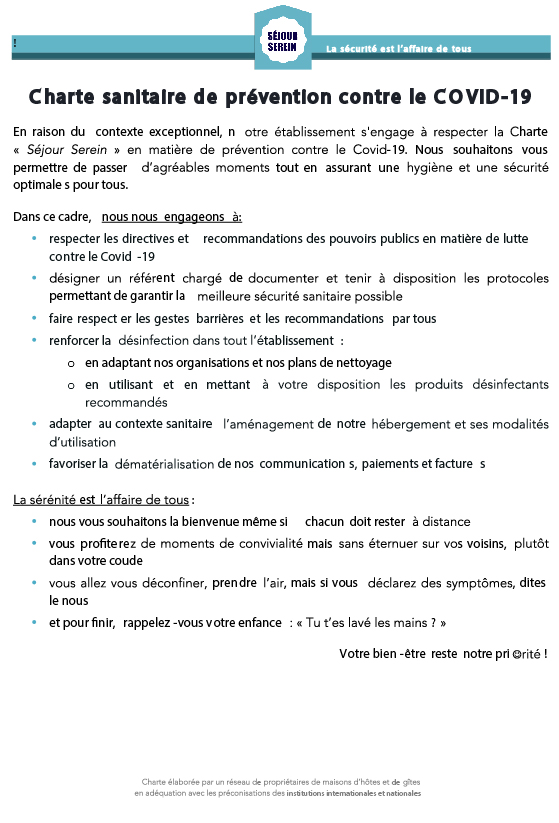 Charte Sanitaire