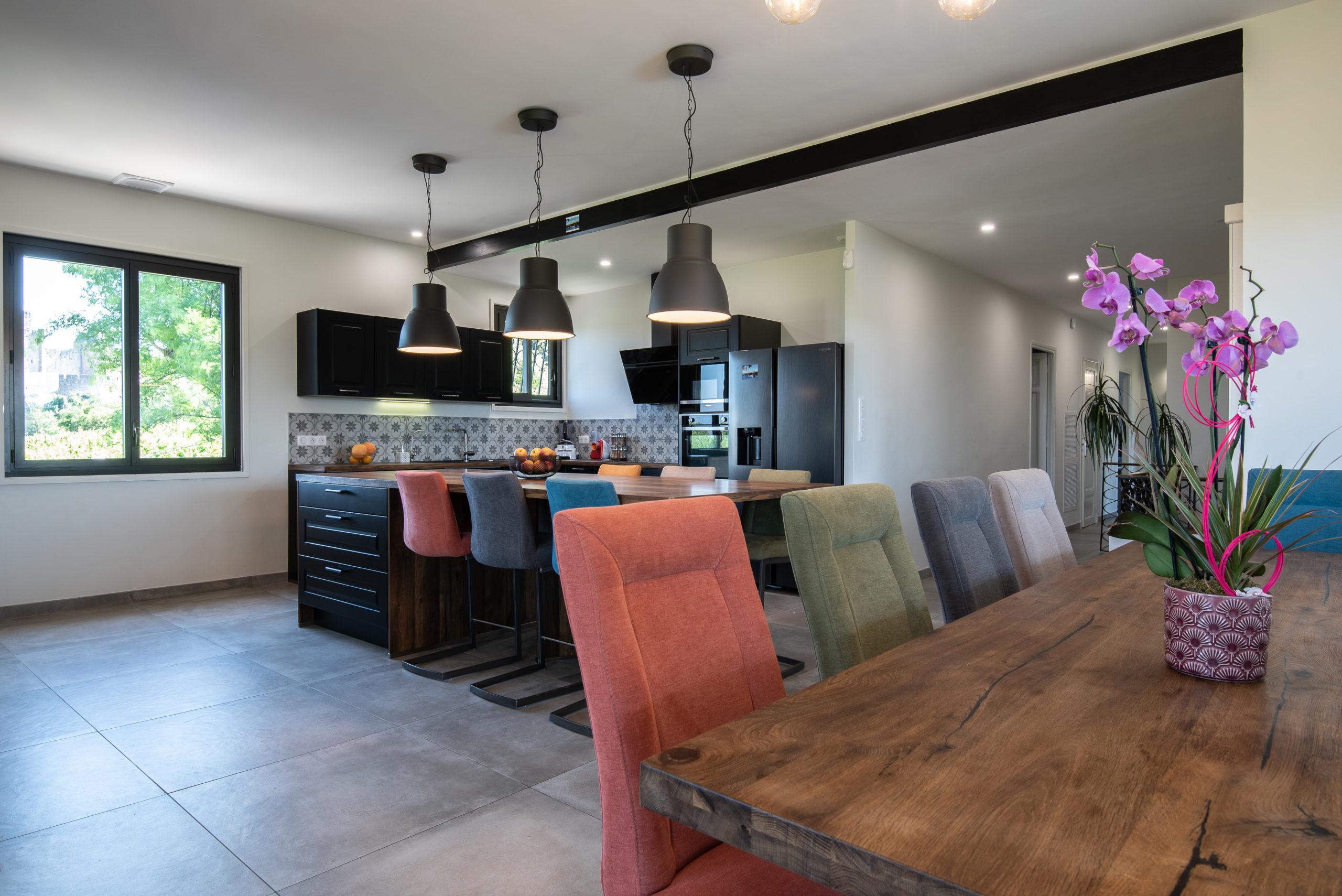 Cuisine - salons à l'écrin de la Cité